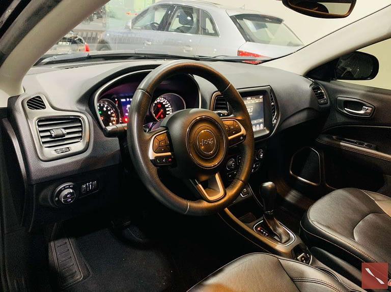 Jeep Compass Longitude 2017/2018 Preta Flex