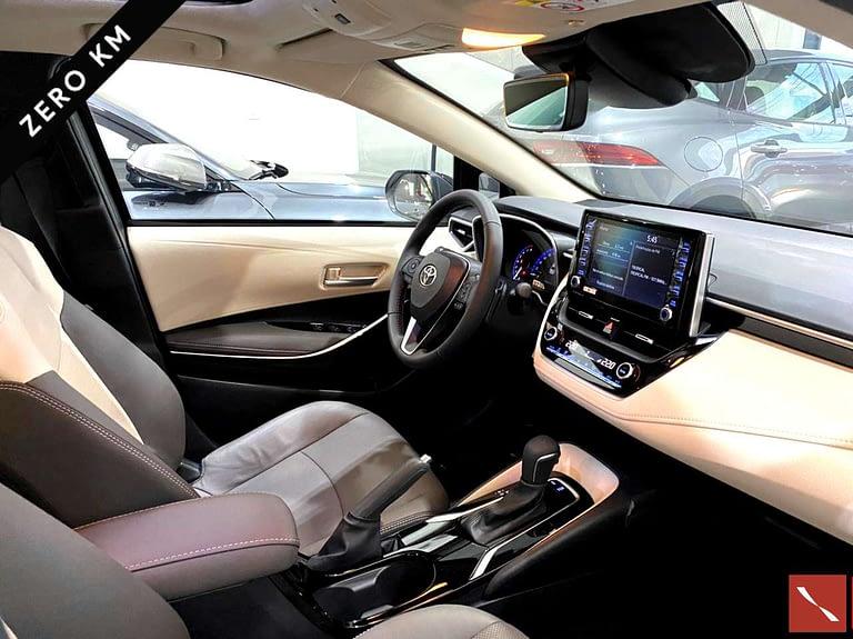 Toyota Corolla 2021/2022 Flex Preto 0Km